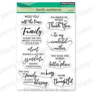 Family Snetiments Penny Balck