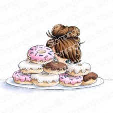 Donut Girl by Stamping Bella