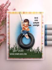 Simple Things Tire Swing Deb Valder