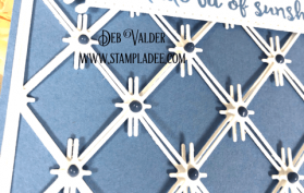 Diamonds are a Stampers Best Friend with this background.