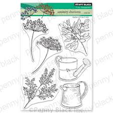 Country Charisma Clear Stamp Set by Penny Black