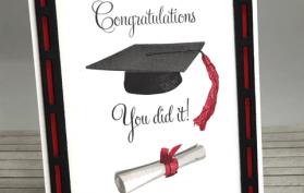Graduation Stamping with Teaspoon of Fun