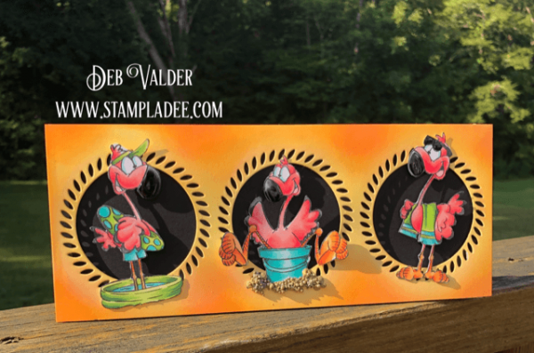 Slimline Flamingos Are So Cute and all products can be found in our Teaspoon of Fun Shoppe.