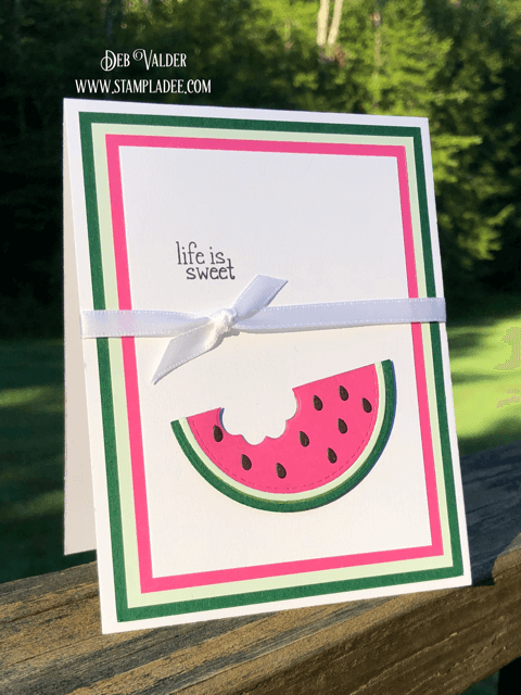 Life is Sweet with our newest Card Kit Combo for August found in the the Teaspoon of Fun Shoppe