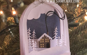 Tutorial on Building the Snow Globe Deal #13. All products can be found in our Teaspoon of Fun Shoppe.