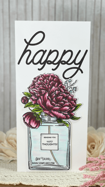 Happy Little Thoughts with this amazing new set. All proucts can be found in our Teaspoon of Fun Shoppe. Perfume Bouquet.