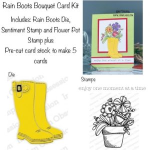 Rain Boots Bouquet Kit can be found in our Teaspoon of Fun Shoppe.