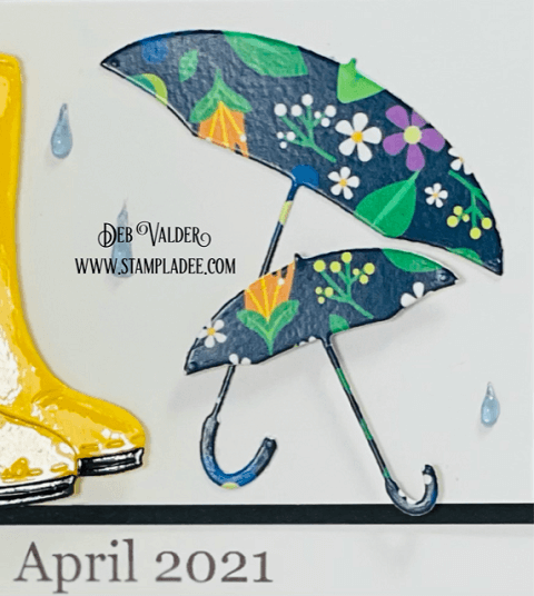 April showers bring May flowers is from our newest kit. All products can be found in our Teaspoon of Fun Shoppe.