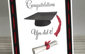 Congratulations Graduate You Did It. All products can be found in our Teaspoon of Fun Shoppe.