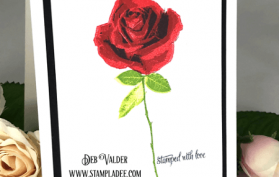A rose for a Mother's Day Card. All products can be found in our Teaspoon of Fun Shoppe.