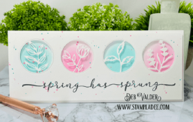 Spring has sprung with these amazing dies/sentiments sets. All products can be found in our Teaspoon of Fun Shoppe.