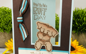 NEW Ruff Day Card Kit. All products can be found in our Teaspoon of Fun Shoppe at www.TeaspoonOfFun.com