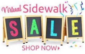 Sidewalk Sale is Up and Running